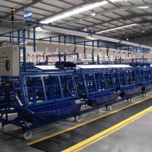 Linii de fabricatie pentru industria cablajelor auto
